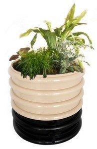 wormenhotelmet planten in het deksel