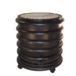 wormenbak 4 ringen zwart wormenhotel