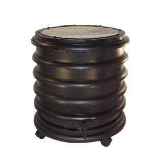 wormenbak 3 ringen zwart