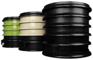 wormenbak groen wit zwart