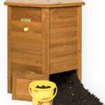 houten compostvat