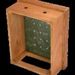 extra houten compostbak